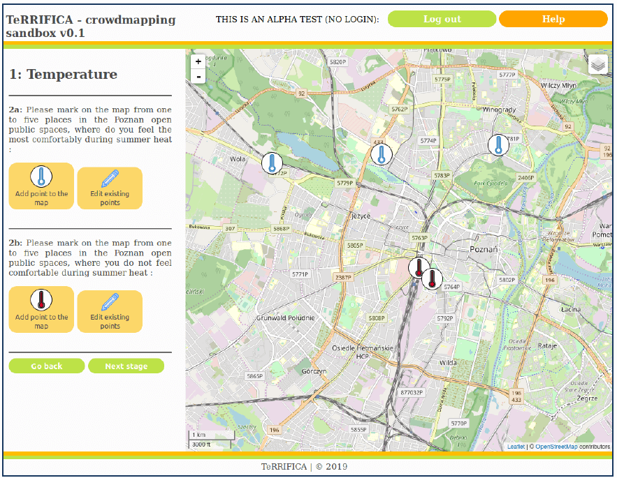 Crowdmapping tool